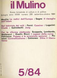 Copertina del fascicolo dell'articolo Eliade e il mito come ierofania