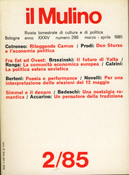 Copertina del fascicolo dell'articolo Avvertenze su come non si dovranno interpretare i risultati del 12 maggio