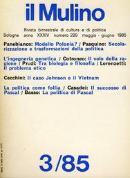 Copertina del fascicolo dell'articolo Il successo di Pascal