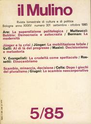 Copertina del fascicolo dell'articolo Lo scambio neocorporativo