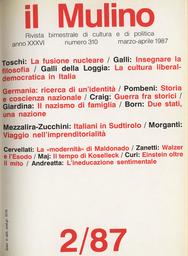 Copertina del fascicolo dell'articolo Due stati e una nazione in Europa