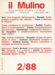 Copertina del fascicolo dell'articolo Le tre culture di Lepenies