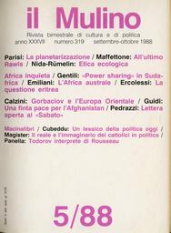 Copertina del fascicolo dell'articolo Cattolici in politica: il reale e l'immaginario