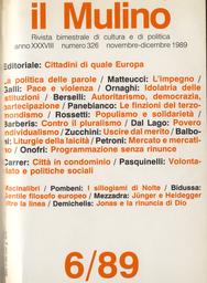 Copertina del fascicolo dell'articolo La linea del nulla tra Jünger e Heidegger