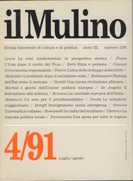 Copertina del fascicolo dell'articolo Le radici storiche del localismo italiano
