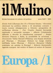 Copertina del fascicolo dell'articolo Sovranità nazionale e sovranità europea