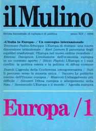 Copertina del fascicolo dell'articolo Il percorso verso l'Euro
