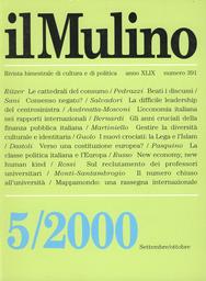 Copertina del fascicolo dell'articolo New economy, new human kind