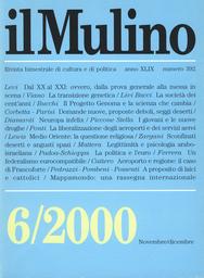 Copertina del fascicolo dell'articolo Dal XX al XXI: ovvero, dalla prova generale alla messa in scena