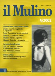 Copertina del fascicolo dell'articolo Partenariato e risorse umane