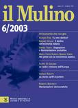 cover del fascicolo, Fascicolo arretrato n.6/2003 (novembre-dicembre)
