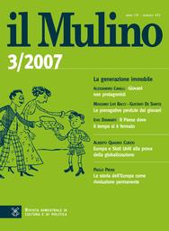 Copertina del fascicolo dell'articolo Partito democratico: il ruolo del sindacato
