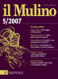 Copertina del fascicolo dell'articolo Questione cattolica e Partito democratico