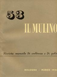 Copertina del fascicolo dell'articolo I miti umani di Domenico Rea