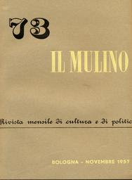 Copertina del fascicolo dell'articolo I valori tra la metafisica e la storia