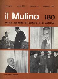 Copertina del fascicolo dell'articolo La responsabilità politica dei cattolici nel rinnovamento della società