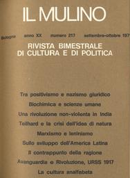 Copertina del fascicolo dell'articolo Marxismo e leninismo