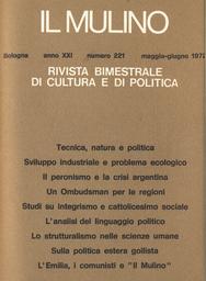 Copertina del fascicolo dell'articolo L'analisi del linguaggio politico