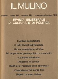Copertina del fascicolo dell'articolo Il mito liberal-individualista