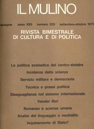 Copertina del fascicolo dell'articolo Romanzo e scienze umane