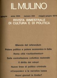 Copertina del fascicolo dell'articolo Il diritto dei minori