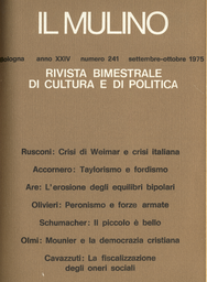 Copertina del fascicolo dell'articolo Scuola e biblioteca pubblica