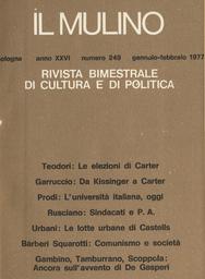 Copertina del fascicolo dell'articolo Sindacati e pubblica amministrazione